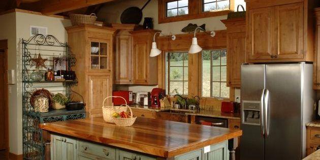 Cómo decorar una cocina al estilo rústico | Muebles Amets