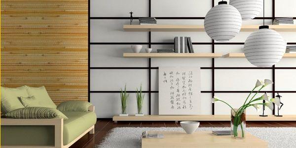 Decoracin de estilo japons tendencia para interiores en verano