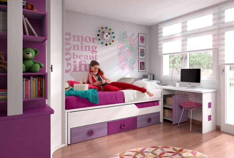 Dormitorio feng shui para ni os muebles amets - Dormitorios infantiles para nino ...