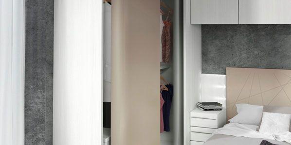 10 ideas para un dormitorio pequeño | Muebles Amets