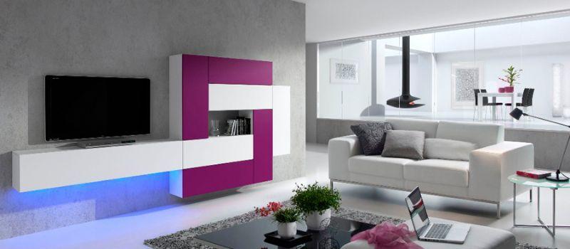 Muebles de salon minimalistas idee per interni e mobili for Muebles salon diseno minimalista