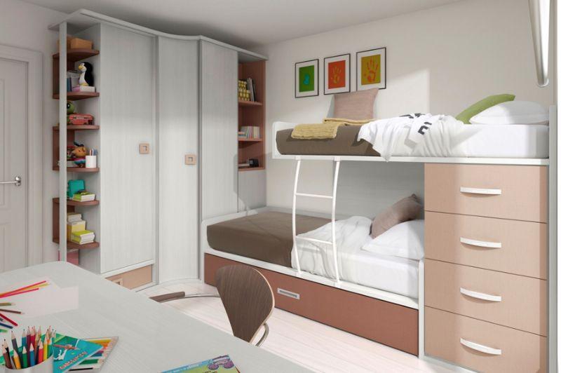 Como ganar espacio en el dormitorio muebles amets - Dormitorios juveniles espacios pequenos ...