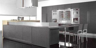 Buscas Elegancia Color Gris En La Cocina Muebles Amets - Cocinas-en-gris