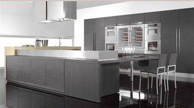 Cocinas Gris | Buscas Elegancia Color Gris En La Cocina Muebles Amets