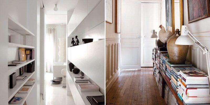 Ideas originales para tener tu pasillo decorado muebles - Muebles de pasillo ...