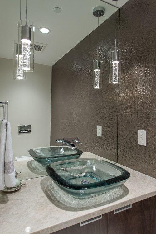 contemporary powder room 3