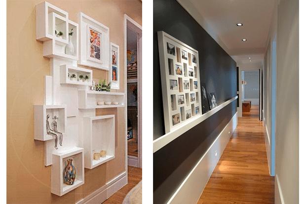 Como decorar pasillos pasillo cmo decorar las paredes - Decoracion paredes pasillos ...