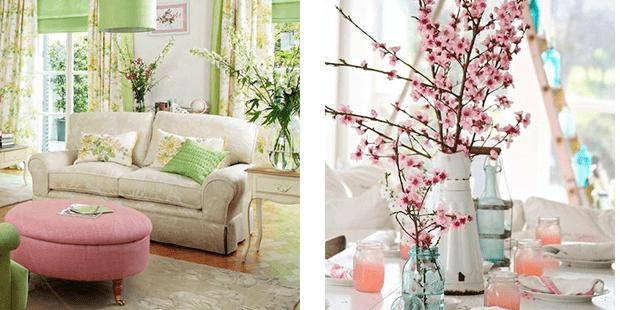 Ideas para decorar tu hogar en primavera Muebles Amets
