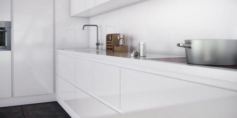 C mo decoramos una cocina peque a muebles amets for Configurador de cocinas