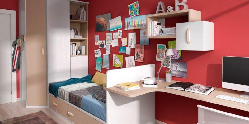 Decorar dormitorios juveniles | Muebles Amets