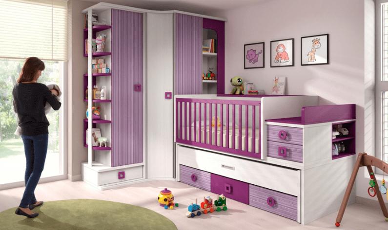 Decorar la habitaci n de tu beb muebles amets - Decorar una habitacion de bebe ...