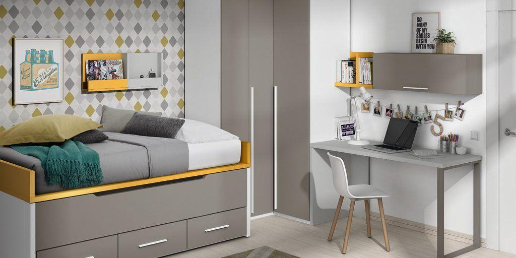 C mo decorar un dormitorio juvenil muebles amets - Decorar un dormitorio juvenil ...