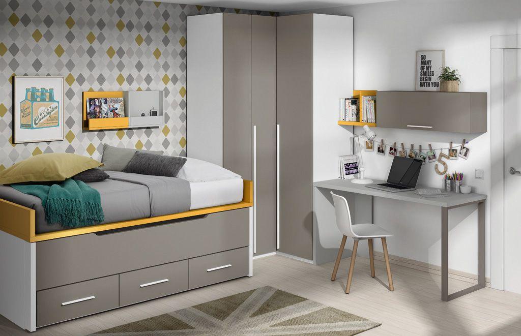 C mo decorar un dormitorio juvenil muebles amets - Como decorar un dormitorio juvenil ...