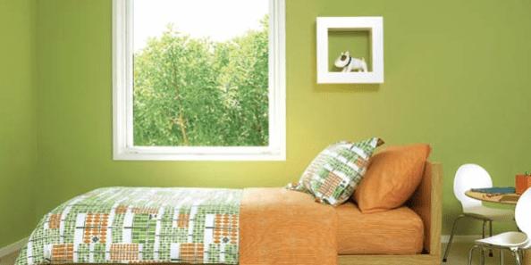 El color verde en la decoraci n del hogar muebles amets for Decoracion hogar verde
