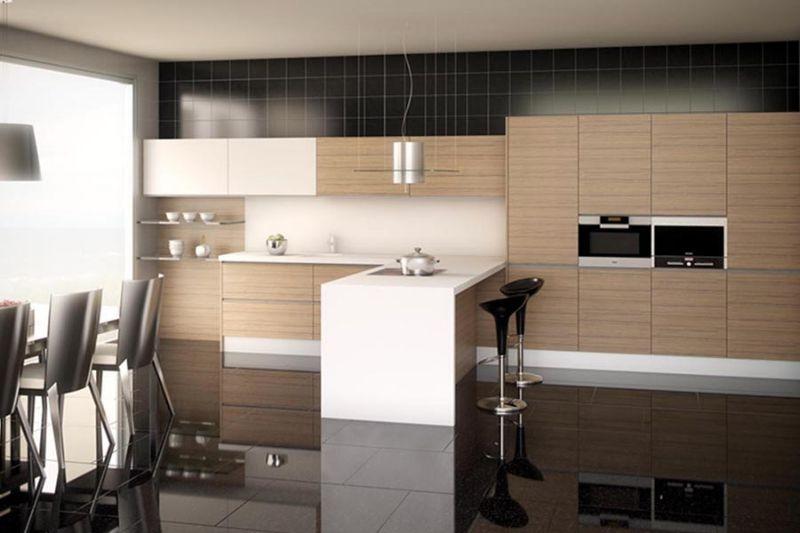 Tendencias en la cocina en 2017 muebles amets for Configurador cocinas